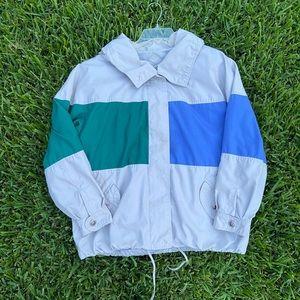 Mulberry Street Vintage color block jacket